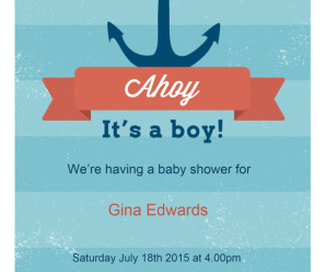 Invitaciones De Baby Shower Para Imprimir Archives
