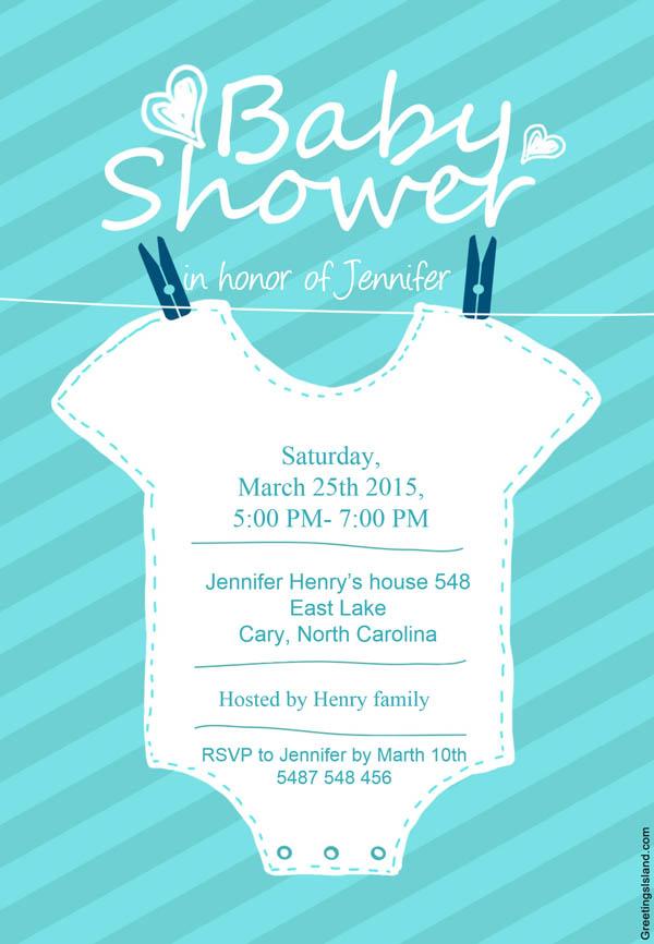 7 Invitaciones De Baby Shower Para Imprimir Gratis Baby